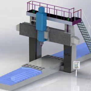 Fresadora Puente Móvil FPF Plus